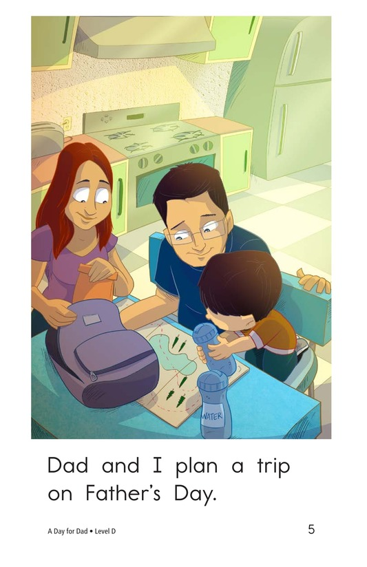 Book Preview For A Day for Dad Page 5