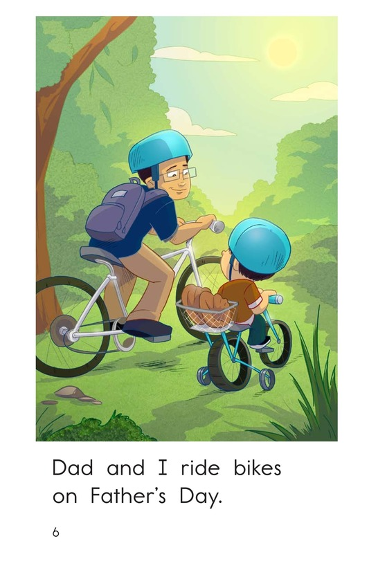 Book Preview For A Day for Dad Page 6