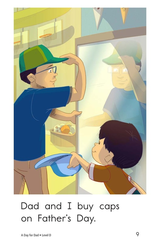 Book Preview For A Day for Dad Page 9