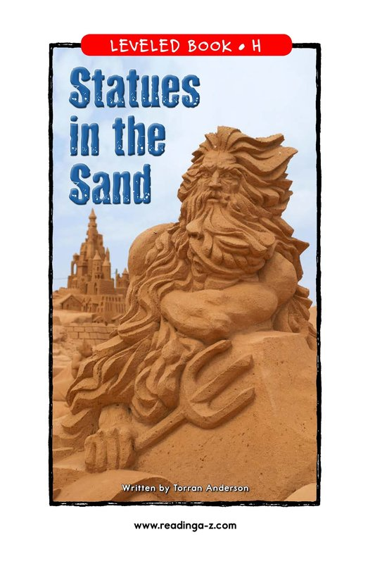 Book Preview For Statues in the Sand Page 1