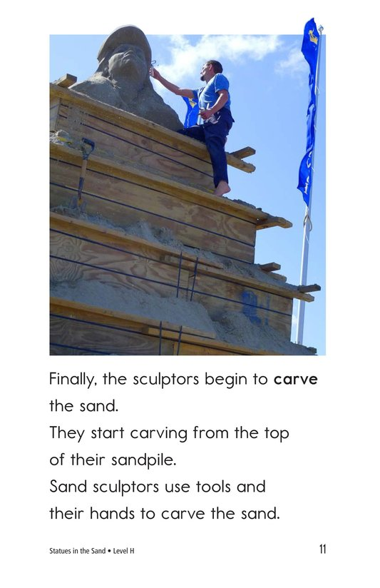 Book Preview For Statues in the Sand Page 11