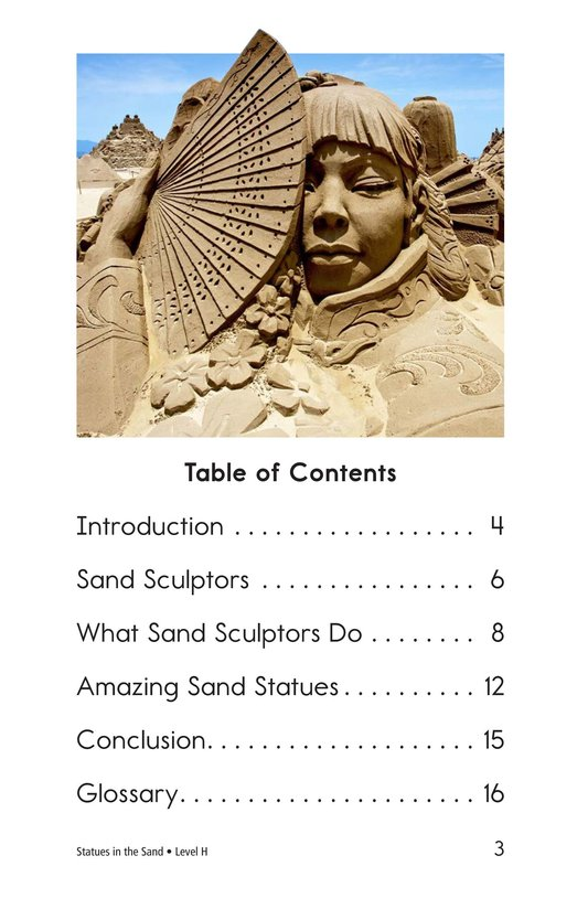 Book Preview For Statues in the Sand Page 3