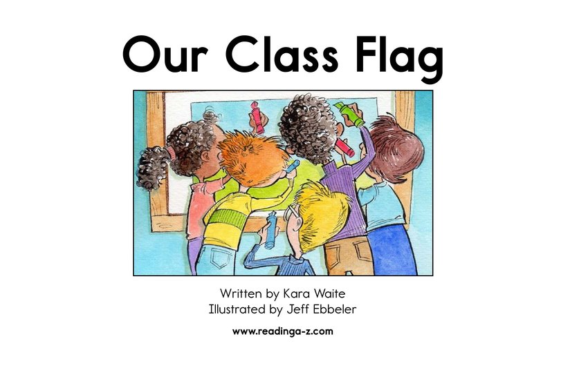 Book Preview For Our Class Flag Page 2