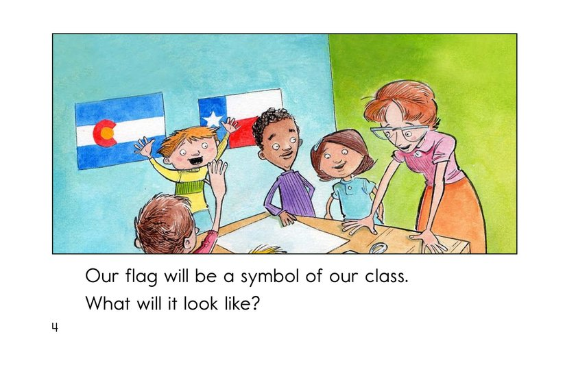 Book Preview For Our Class Flag Page 4