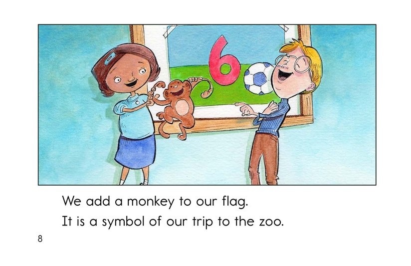 Book Preview For Our Class Flag Page 8