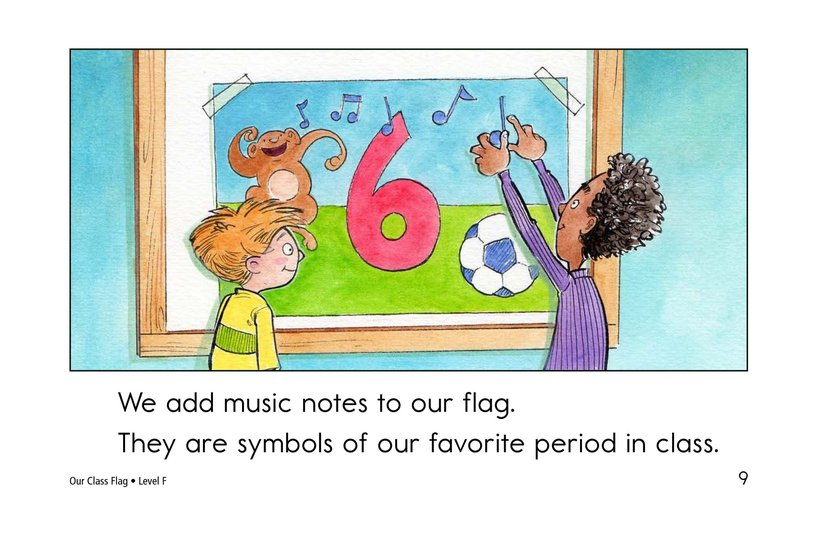 Book Preview For Our Class Flag Page 9