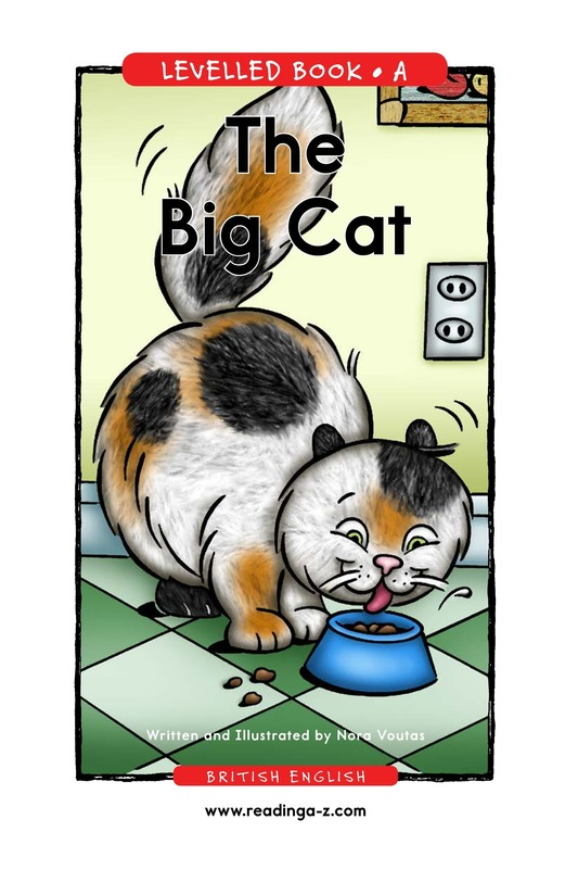 Book Preview For The Big Cat Page 1