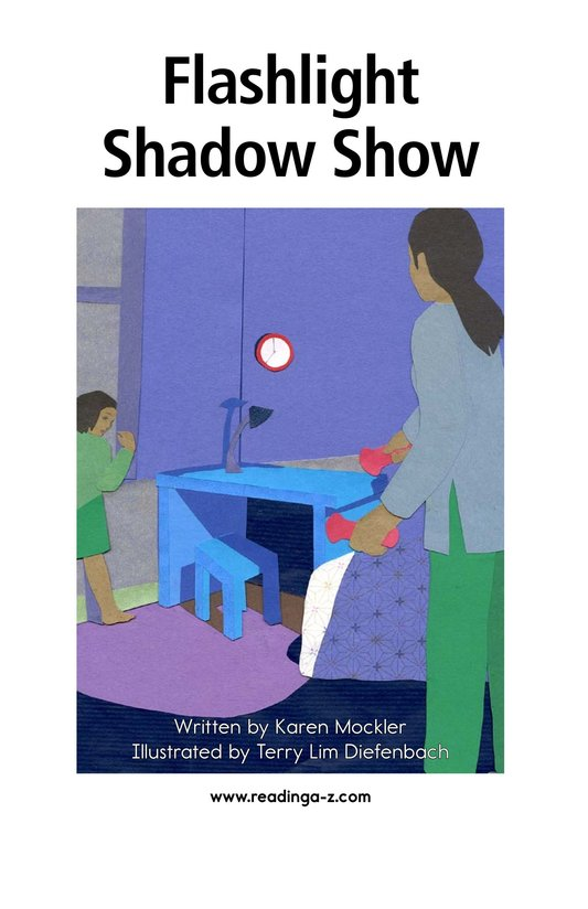Book Preview For Flashlight Shadow Show Page 2