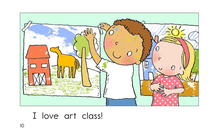 Book Preview For I Love Art Class Page 10