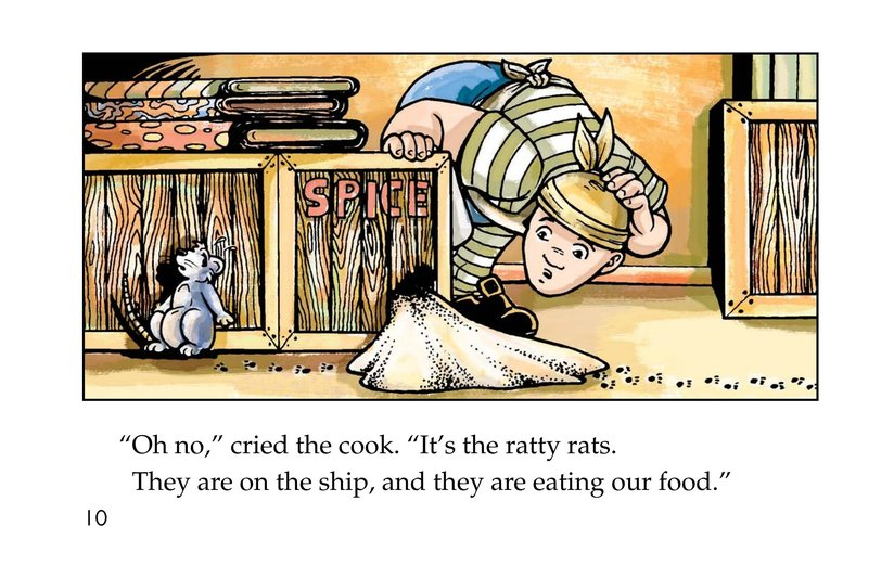 Book Preview For Ratty Rats Page 10