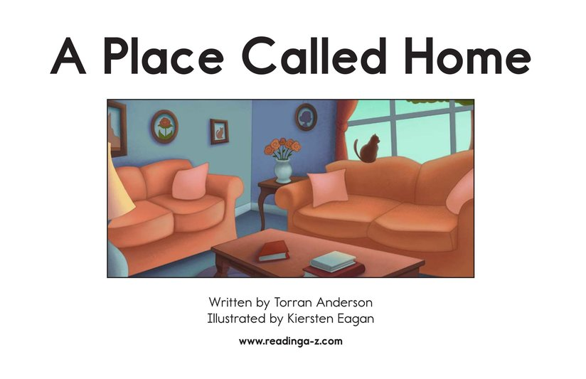 Book Preview For A Place Called Home Page 2