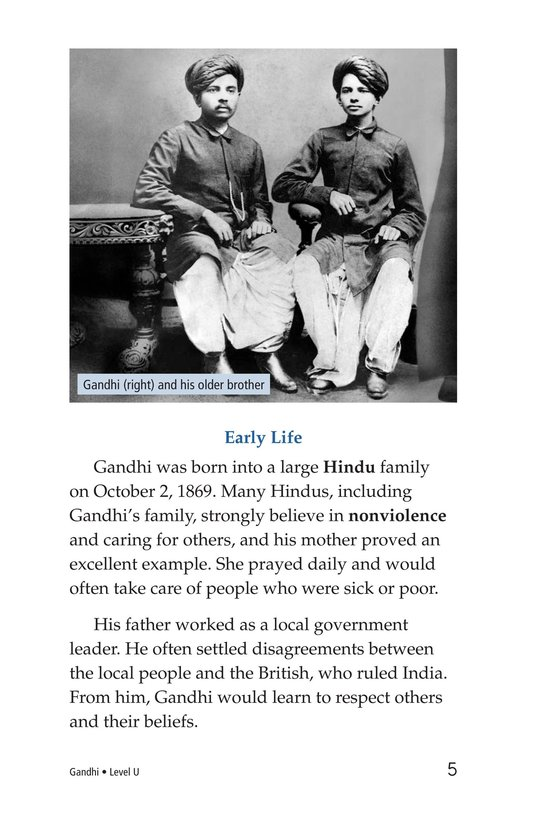 Book Preview For Gandhi Page 5