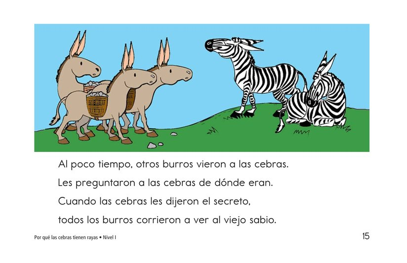 Book Preview For How Zebras Got Their Stripes Page 15