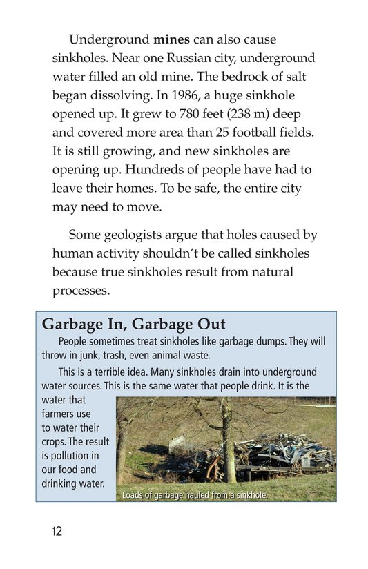 Book Preview For Sinkhole Science Page 12