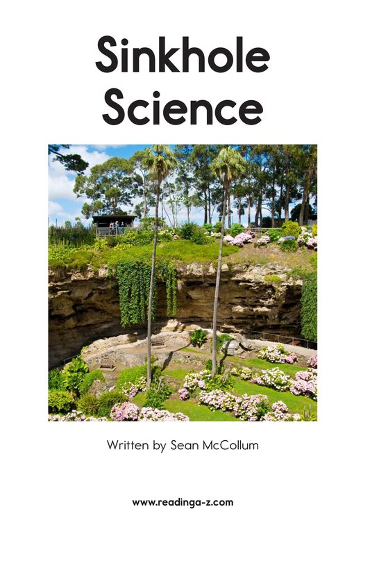 Book Preview For Sinkhole Science Page 2