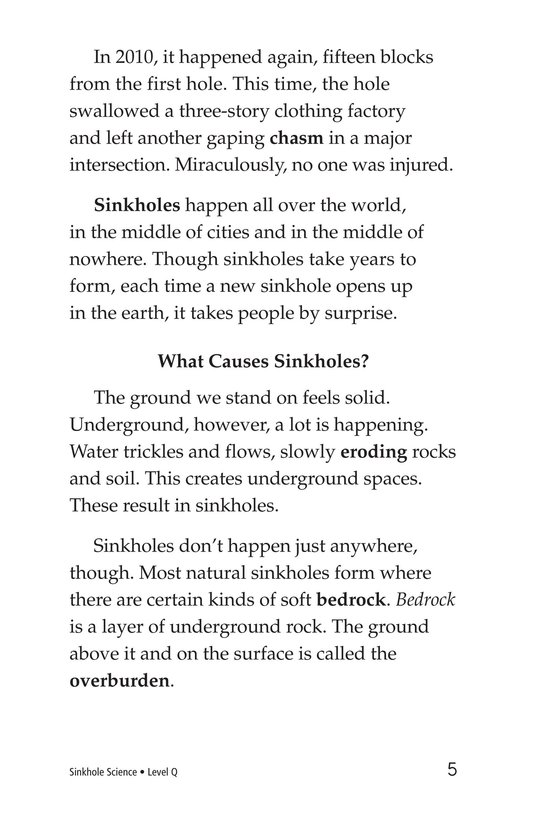 Book Preview For Sinkhole Science Page 5