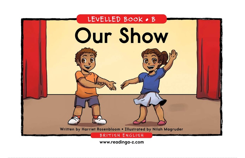 Book Preview For Our Show Page 1