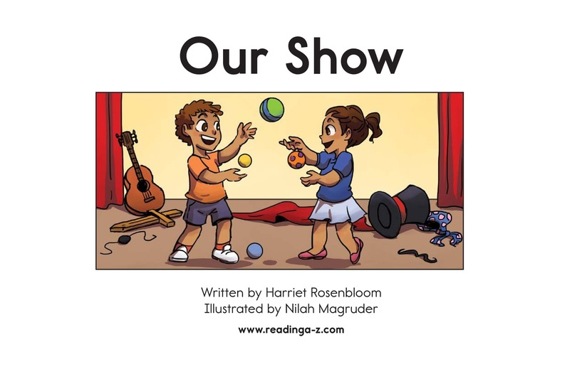 Book Preview For Our Show Page 2