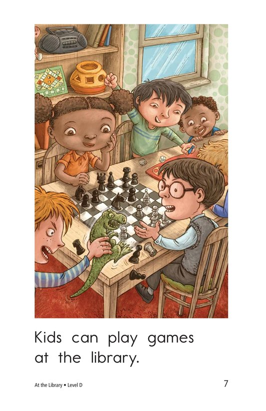 Book Preview For At the Library Page 7