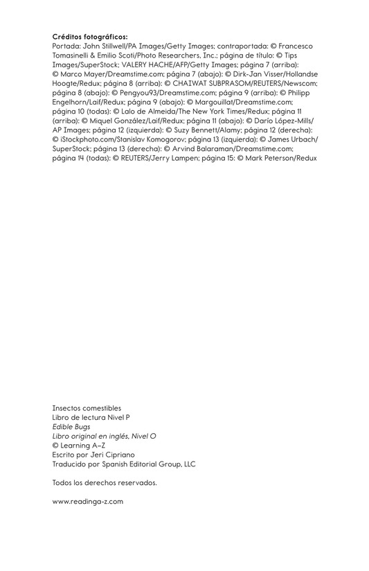 Book Preview For Edible Bugs Page 2