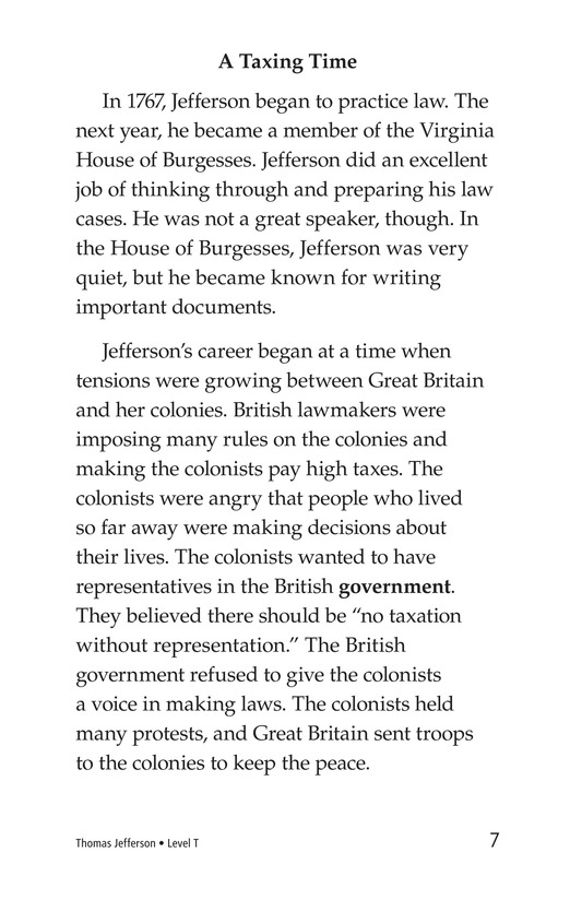 Book Preview For Thomas Jefferson Page 7