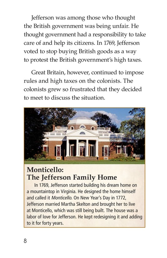 Book Preview For Thomas Jefferson Page 8