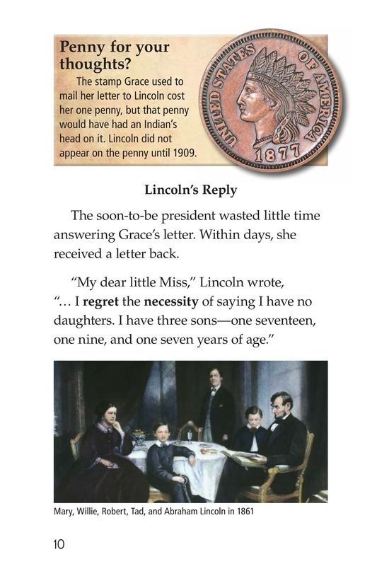 Book Preview For Why Abe Lincoln Grew a Beard Page 10