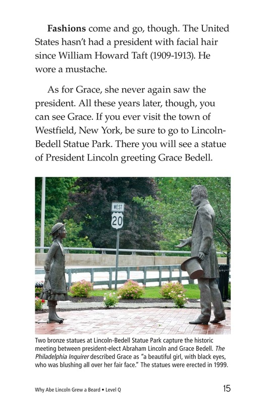 Book Preview For Why Abe Lincoln Grew a Beard Page 15
