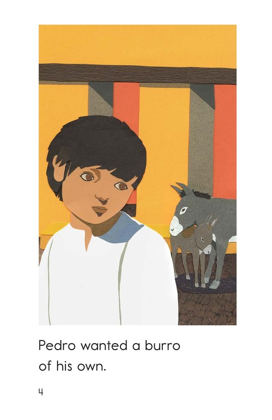 Book Preview For Pedro's Burro Page 4