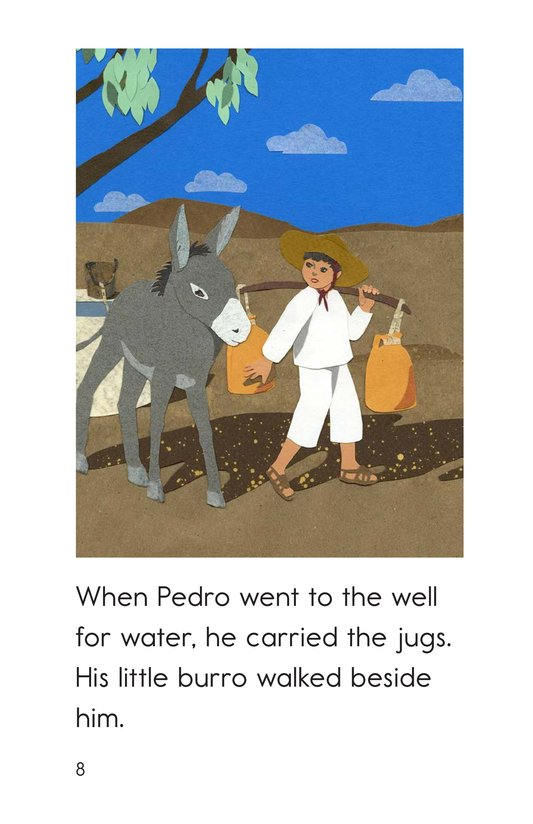 Book Preview For Pedro's Burro Page 8