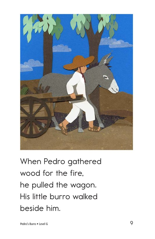 Book Preview For Pedro's Burro Page 9