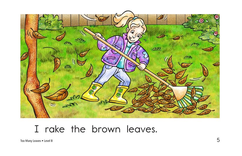 Book Preview For Too Many Leaves Page 5