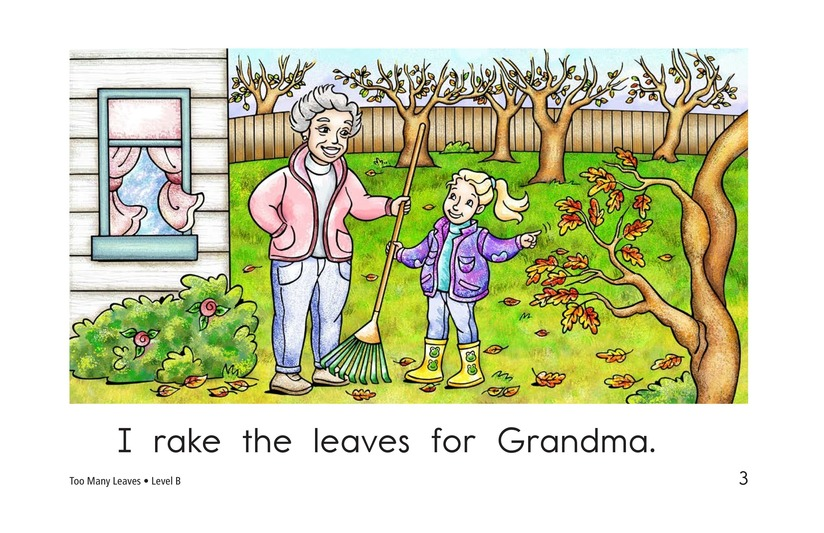 Book Preview For Too Many Leaves Page 3