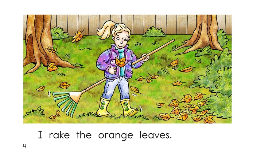 Book Preview For Too Many Leaves Page 4