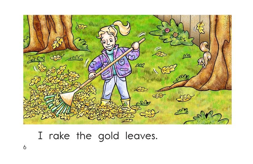 Book Preview For Too Many Leaves Page 6