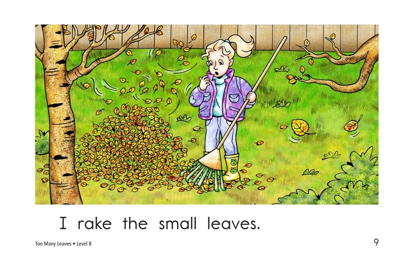 Book Preview For Too Many Leaves Page 9