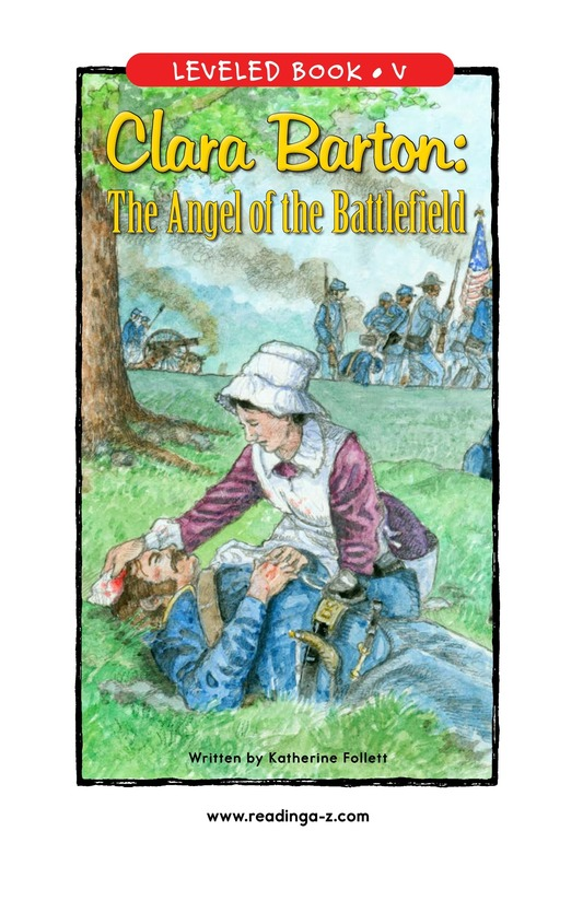 Book Preview For Clara Barton: The Angel of the Battlefield Page 1