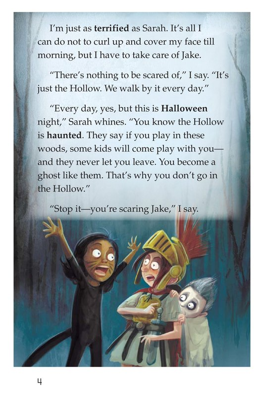 Book Preview For The Hollow Page 4