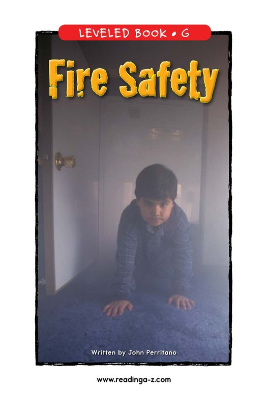 Book Preview For Fire Safety Page 1