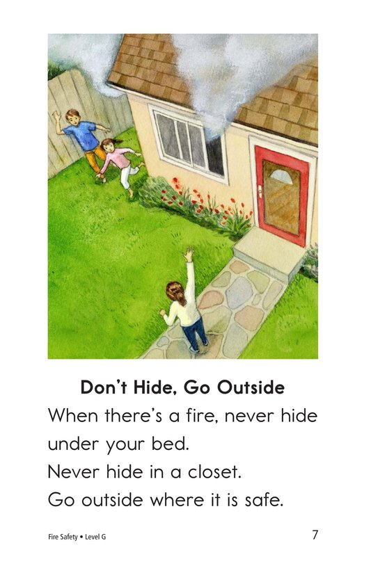 Book Preview For Fire Safety Page 7