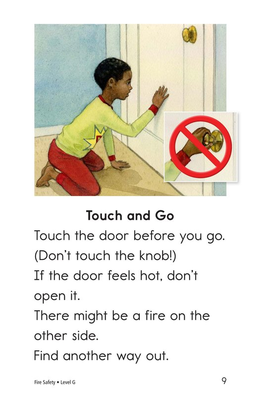 Book Preview For Fire Safety Page 9