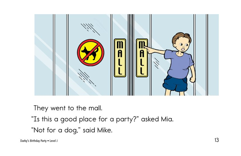 Book Preview For Darby's Birthday Party Page 13
