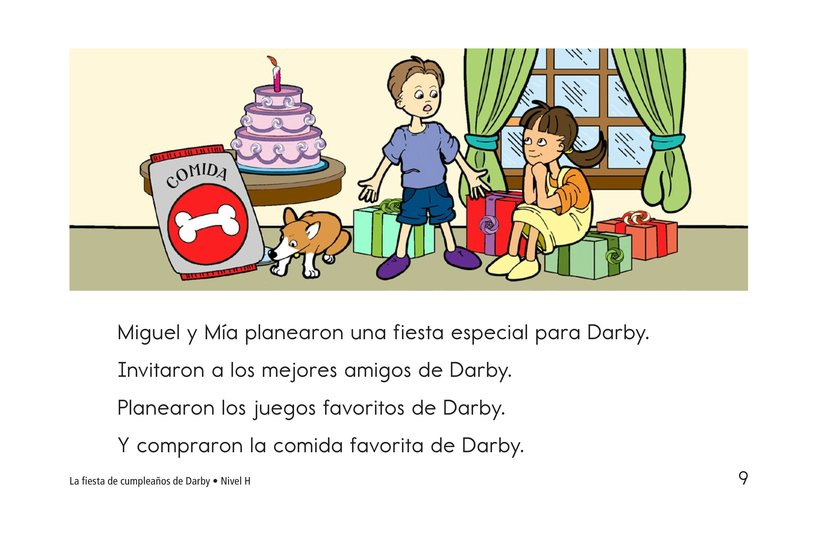 Book Preview For Darby's Birthday Party Page 9