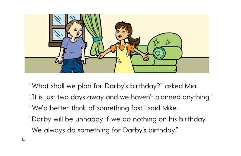 Book Preview For Darby's Birthday Party Page 4