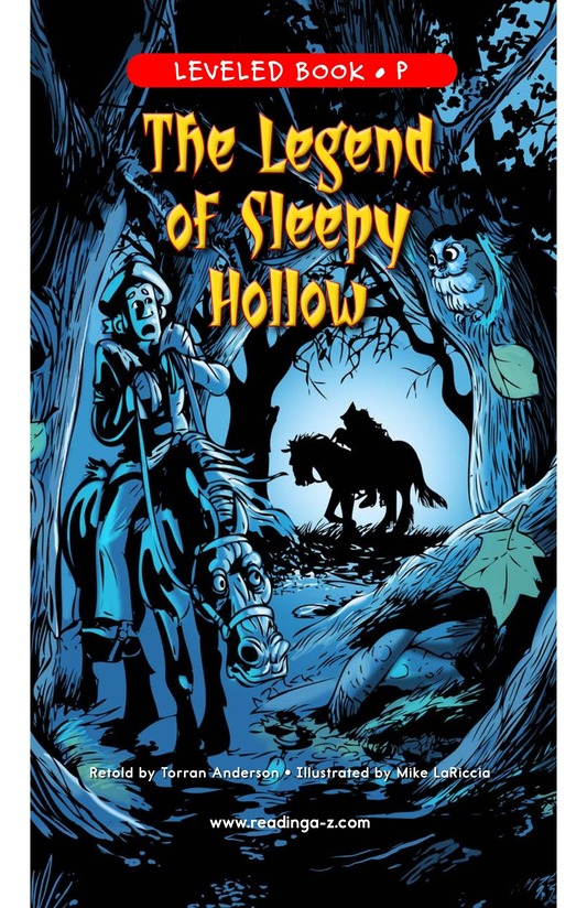 Book Preview For The Legend of Sleepy Hollow Page 1