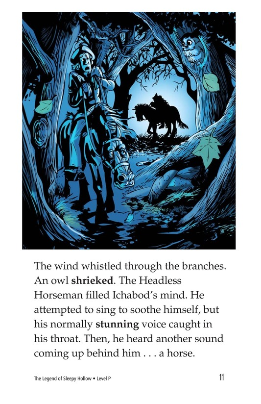 Book Preview For The Legend of Sleepy Hollow Page 11