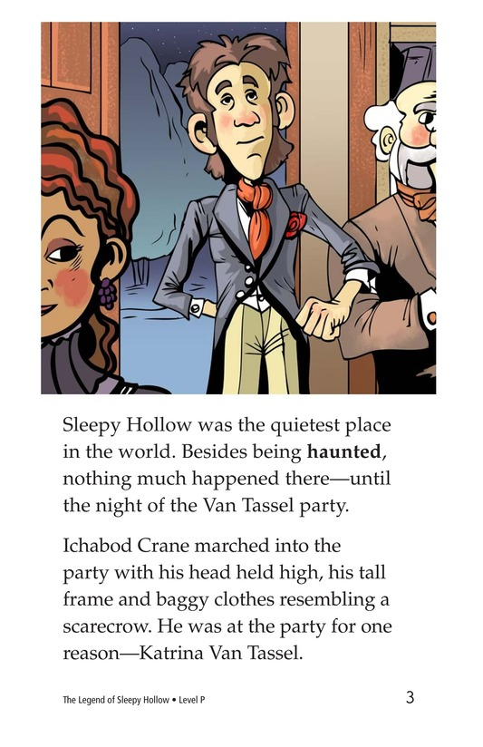 Book Preview For The Legend of Sleepy Hollow Page 3