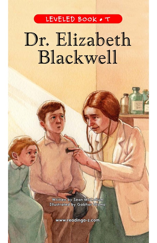 Book Preview For Elizabeth Blackwell: America's First Woman Doctor Page 1