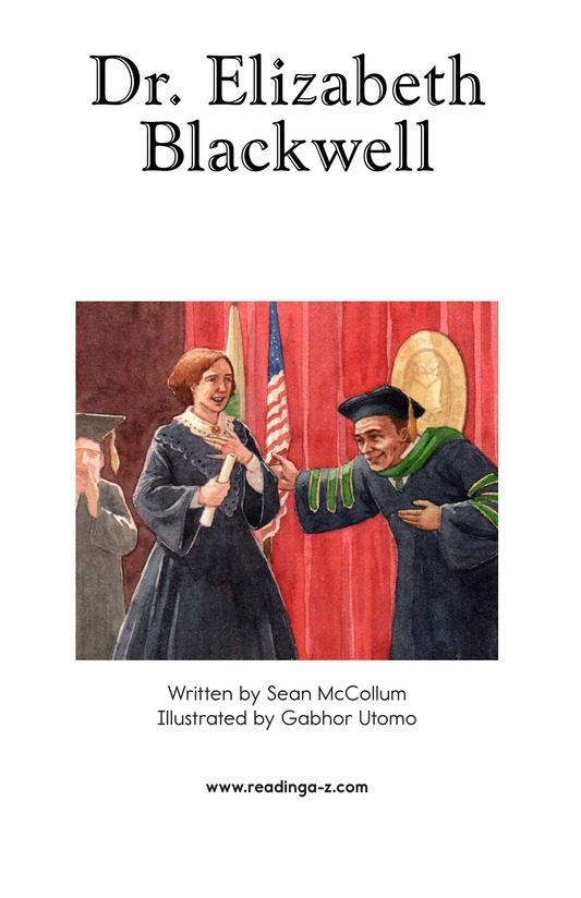 Book Preview For Elizabeth Blackwell: America's First Woman Doctor Page 2