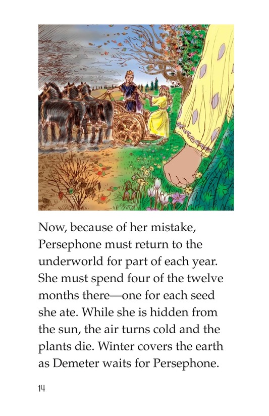 Book Preview For Persephone: A Greek Myth Page 14